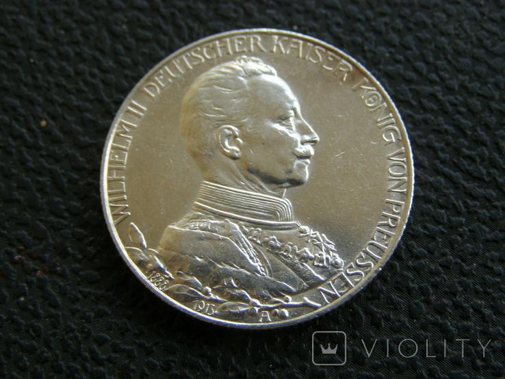 2 марки 1913 г Пруссия, фото №3