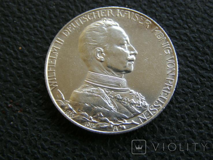 2 марки 1913 г Пруссия, фото №4