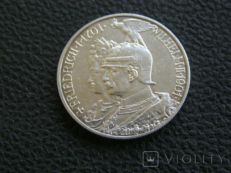 2 марки 1901 г 200 лет королевству Пруссия, фото №3