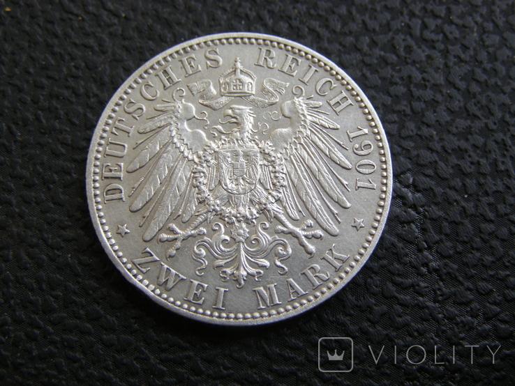 2 марки 1901 г 200 лет королевству Пруссия, фото №7
