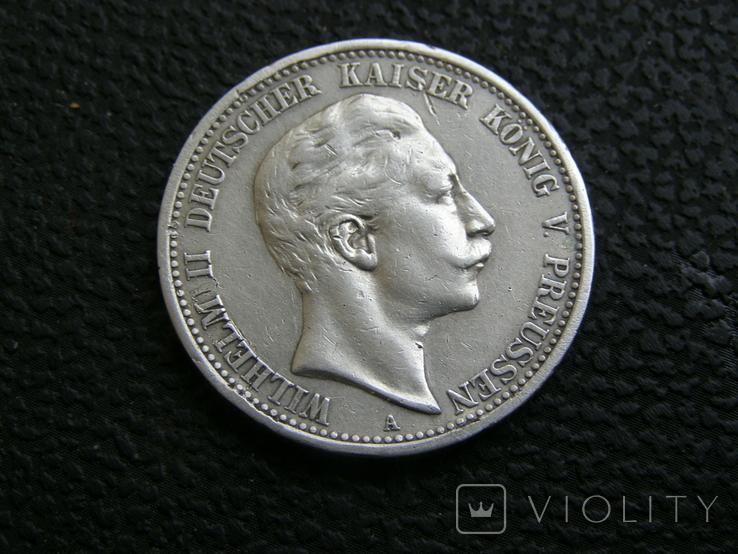 2 марки 1907 г Пруссия, фото №2