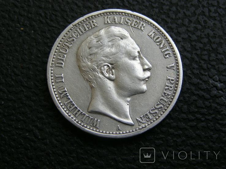 2 марки 1907 г Пруссия, фото №4