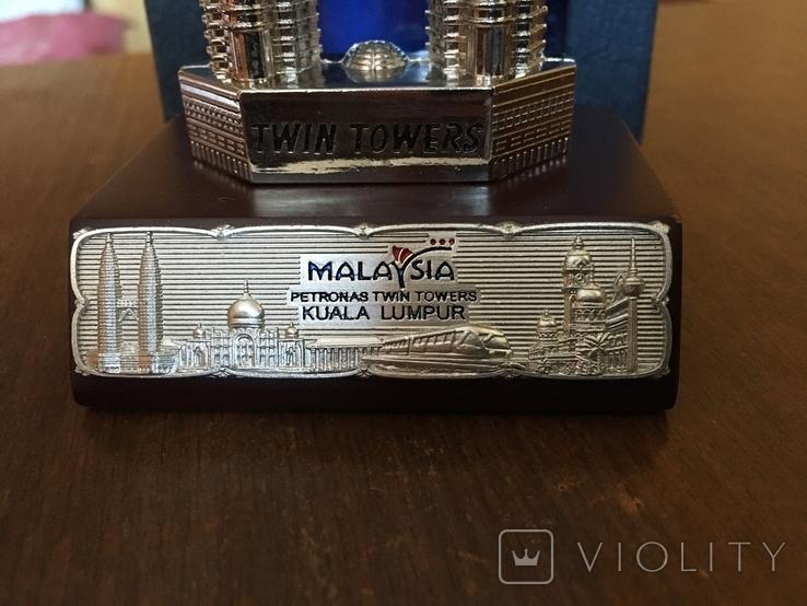 Статуэтка Petronas Twin Towers Malaysia в родной коробке, фото №4