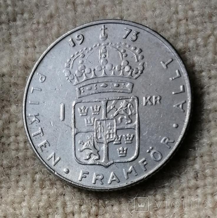 Швеція 1 крона, фото №2