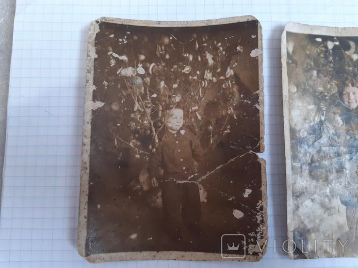 2 новогодних фото (1939 и 1940 гг.), фото №3