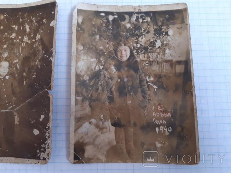 2 новогодних фото (1939 и 1940 гг.), фото №4