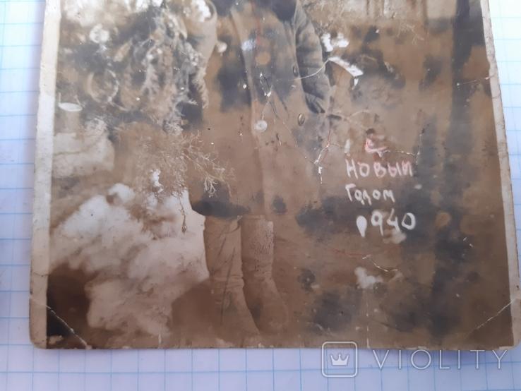 2 новогодних фото (1939 и 1940 гг.), фото №6