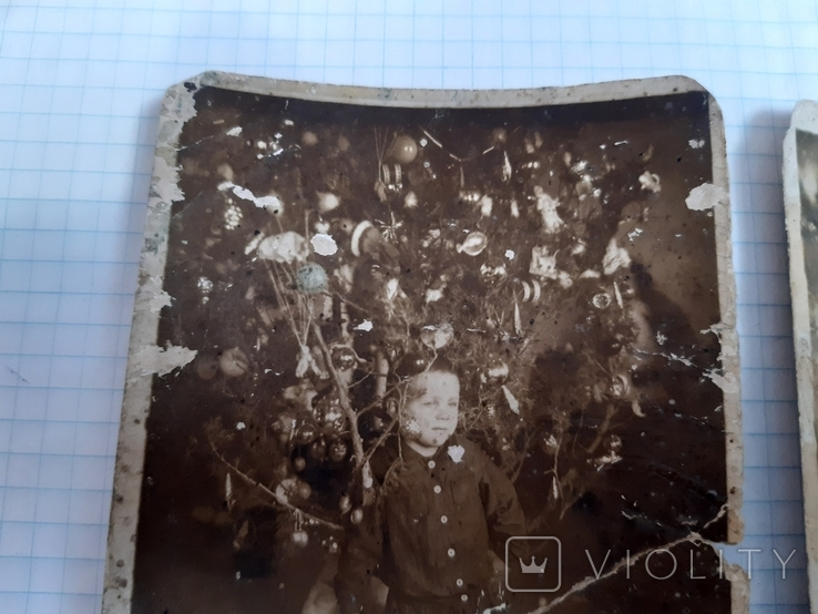 2 новогодних фото (1939 и 1940 гг.), фото №8