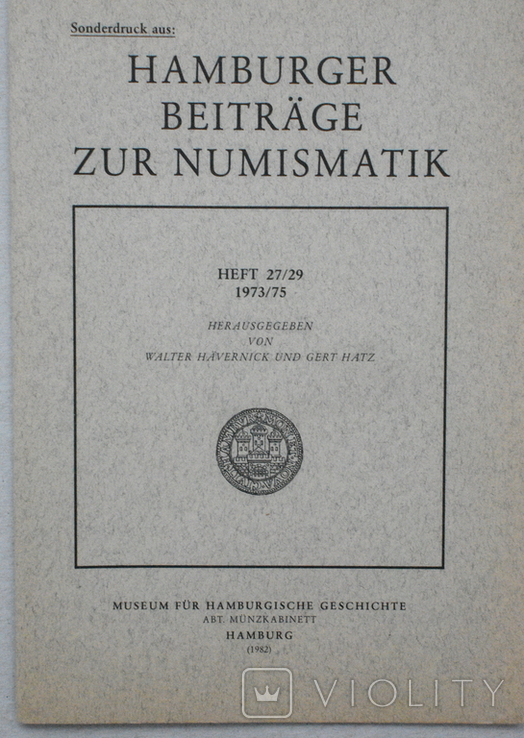 Инностранные оттиски о нумизматике, фото №3