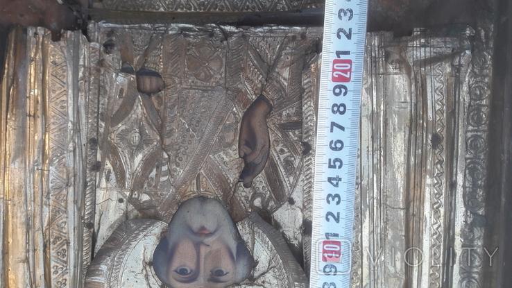 Икона старинная николай 11.03.21.1, фото №6
