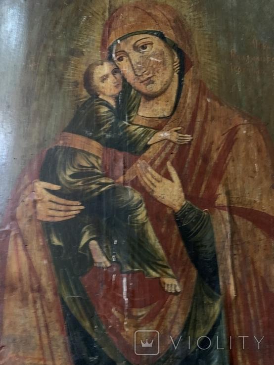 Икона Матерь Божья с сыном, фото №10