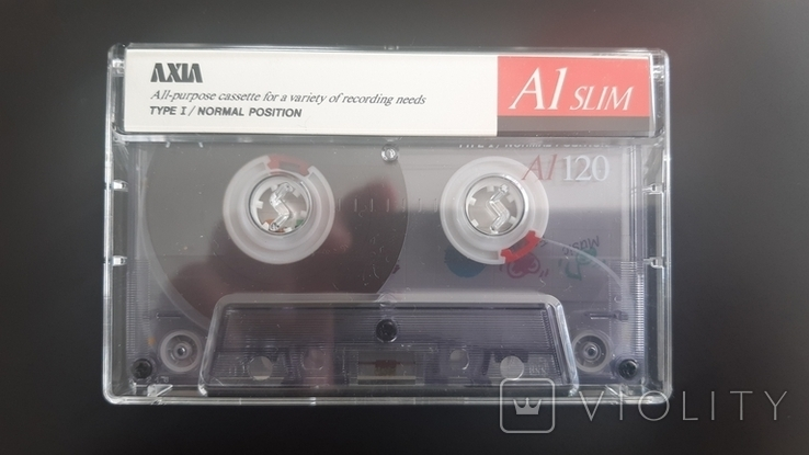 Касета Axia A1 Slim 120 (Release year: 1993), фото №2