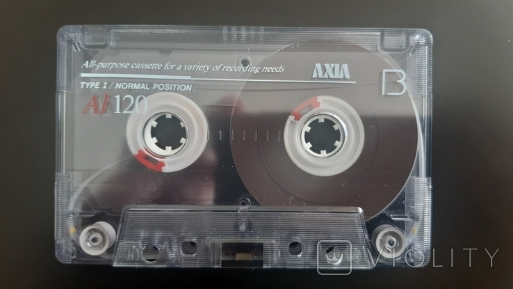 Касета Axia A1 Slim 120 (Release year: 1993), фото №6