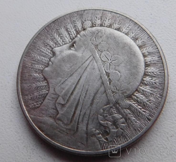 10 злот Ядвига 1933, фото №3