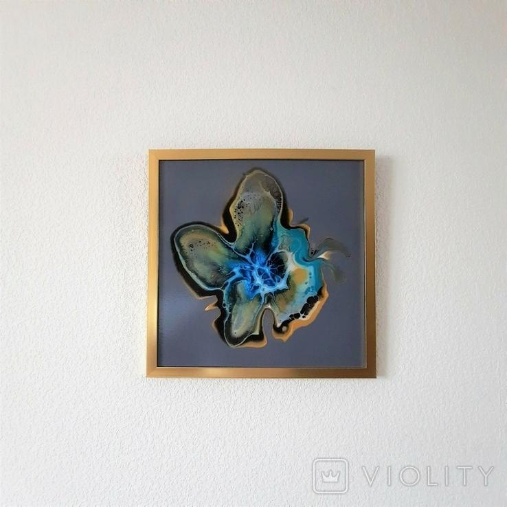 Картина живопис абстракція Fluid Art #32 acrylic, фото №12