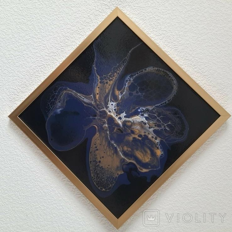 Картина живопис абстракція Fluid Art #33 acrylic, фото №3