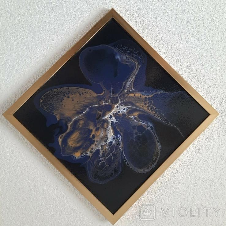 Картина живопис абстракція Fluid Art #33 acrylic, фото №4