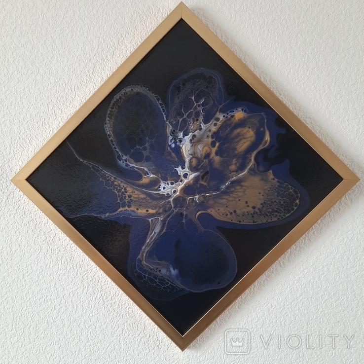 Картина живопис абстракція Fluid Art #33 acrylic, фото №6