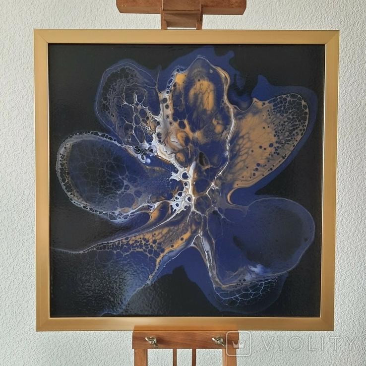Картина живопис абстракція Fluid Art #33 acrylic, фото №2