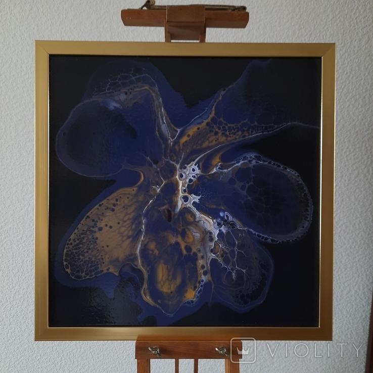 Картина живопис абстракція Fluid Art #33 acrylic, фото №8