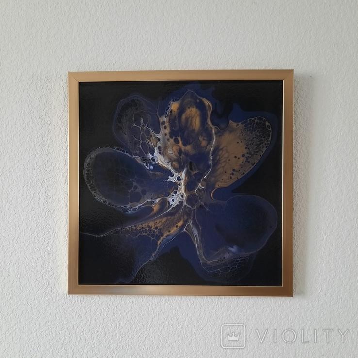 Картина живопис абстракція Fluid Art #33 acrylic, фото №11