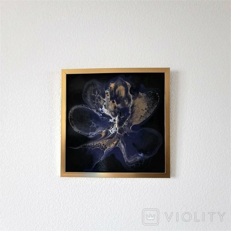Картина живопис абстракція Fluid Art #33 acrylic, фото №12