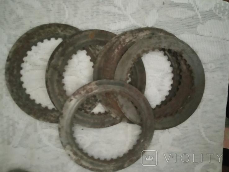 Кольца металлические 7 штук, фото №2