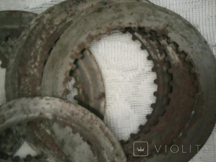 Кольца металлические 7 штук, фото №3