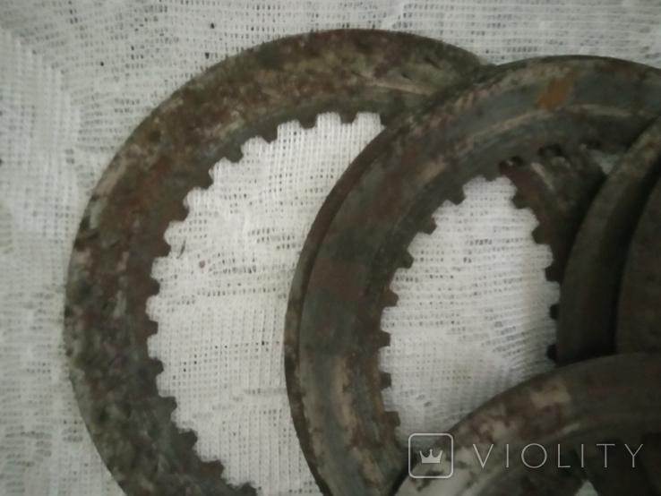 Кольца металлические 7 штук, фото №4