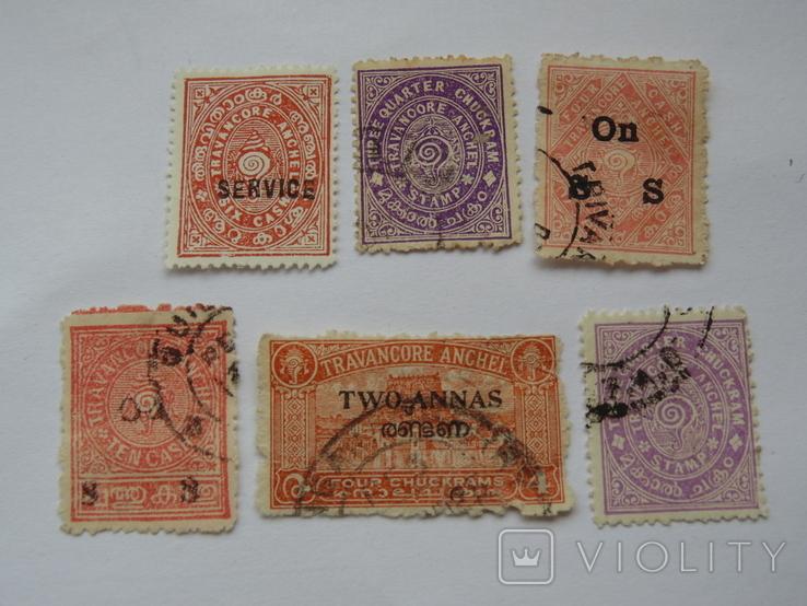 Британские колонии. Индия. Штат Траванкор