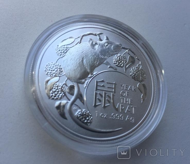 1-я в серии Год Крысы Лунар 2020 от Royal Australian Mint, фото №4