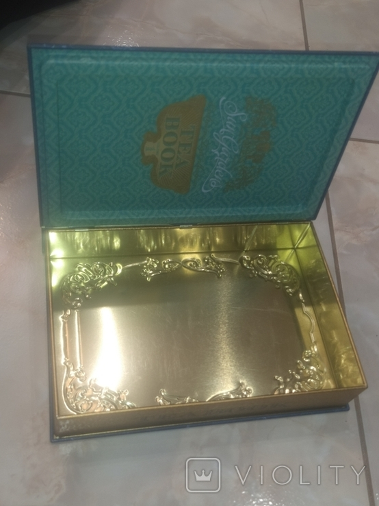 Коробка Банка нарядная Чайная коллекционная, фото №13