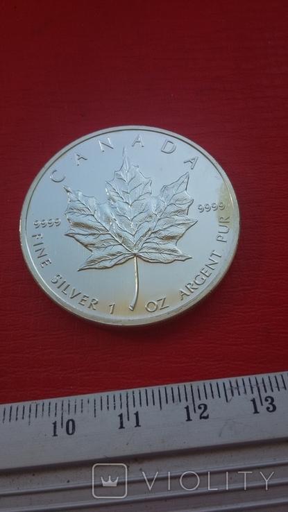 5 $ 2007 Канада унция 999,9 пробы, фото №8