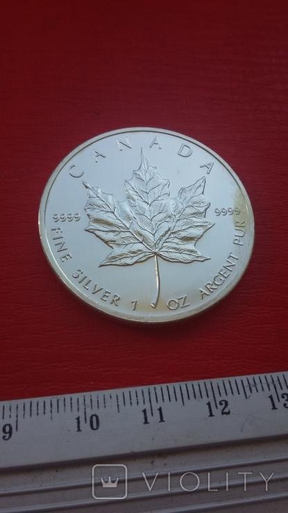 5 $ 2007 Канада унция 999,9 пробы, фото №9