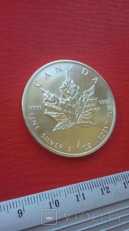 5 $ 2007 Канада унция 999,9 пробы, фото №10