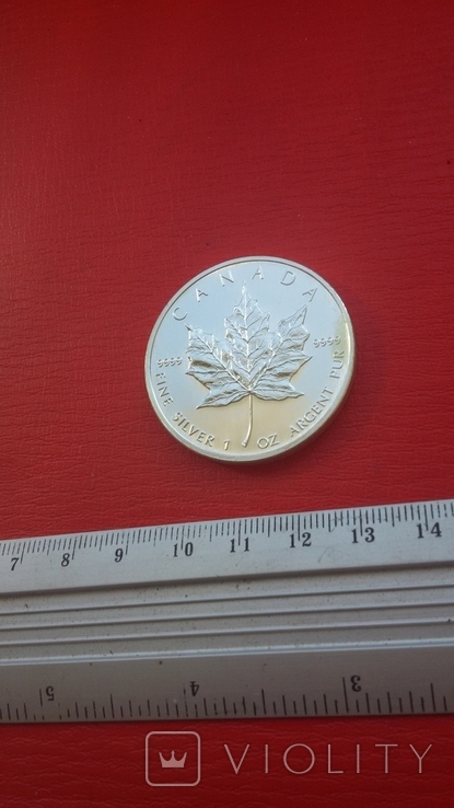 5 $ 2007 Канада унция 999,9 пробы, фото №13