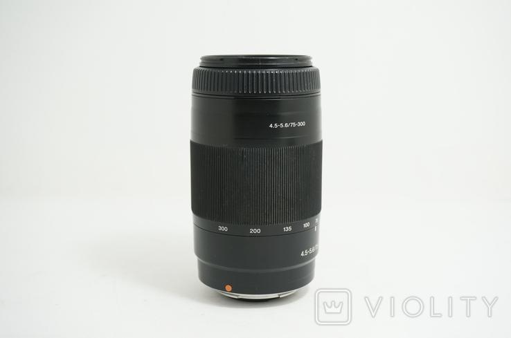 Sony 75-300mm 1:4.5-5.6 MACRO для Sony A, фото №4