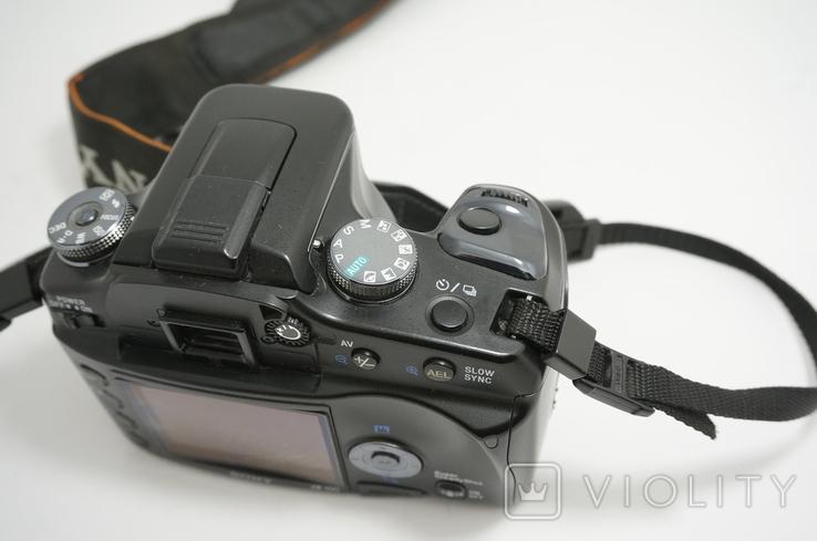 Sony Alpha A100 зеркальная цифровая камера, фото №11