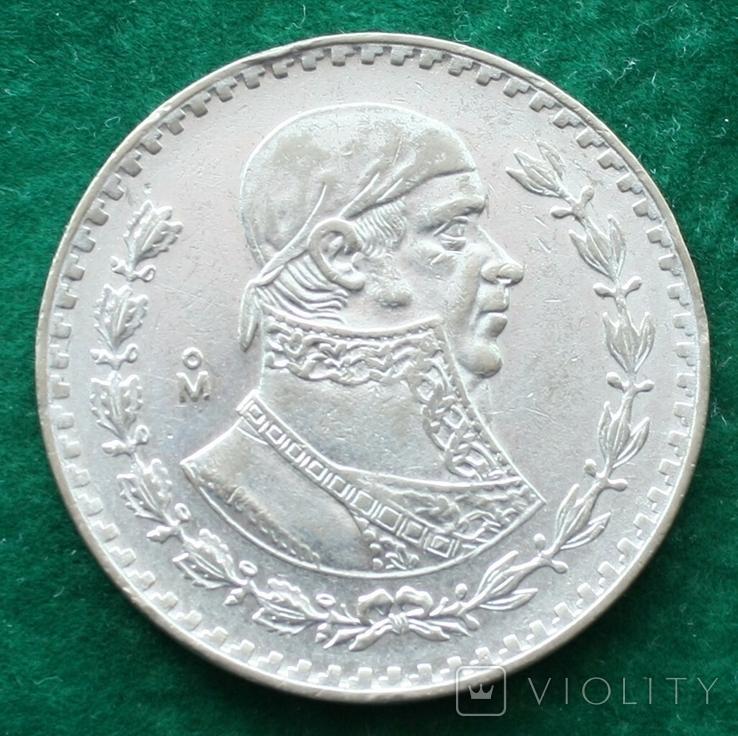 Мексика 1 песо 1959 г., фото №2