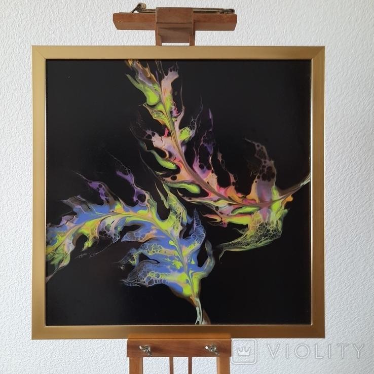 Картина живопис абстракція Fluid Art #35 acrylic, фото №2