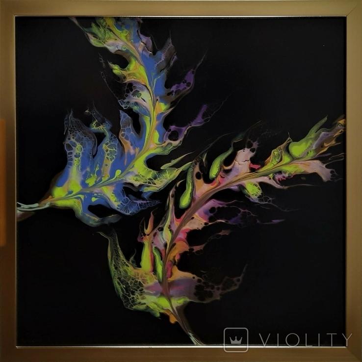 Картина живопис абстракція Fluid Art #35 acrylic, фото №3