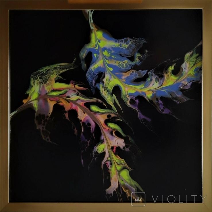 Картина живопис абстракція Fluid Art #35 acrylic, фото №4