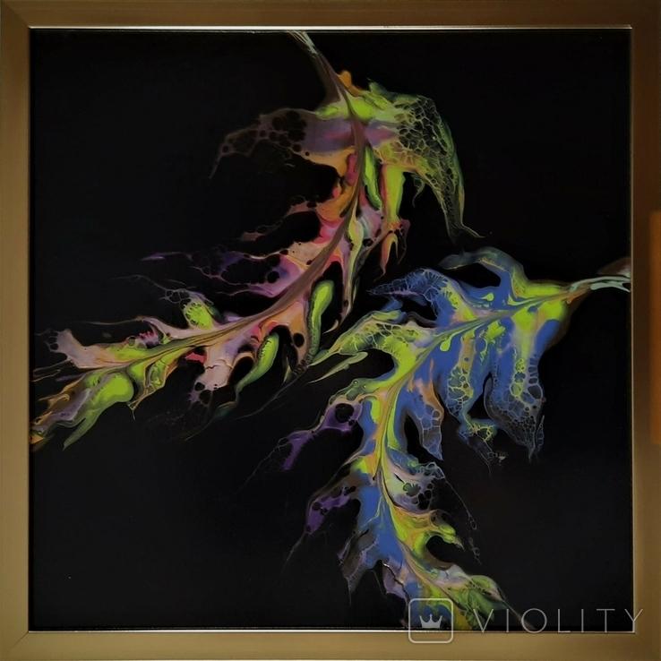 Картина живопис абстракція Fluid Art #35 acrylic, фото №5