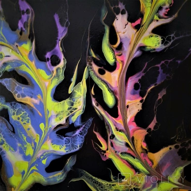Картина живопис абстракція Fluid Art #35 acrylic, фото №11
