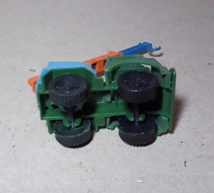 Миниатюрная машинка грузовик АВТОКРАН СССР 60-70-е годы., фото №4