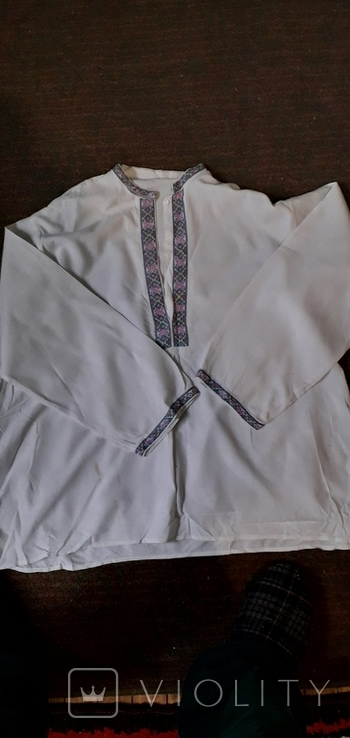 Старовинна чоловіча сорочка., фото №3