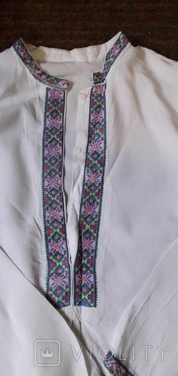 Старовинна чоловіча сорочка., фото №2