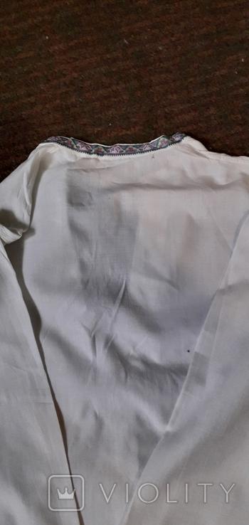 Старовинна чоловіча сорочка., фото №8