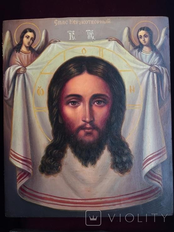 Икона Спас Неруктворный, фото №5