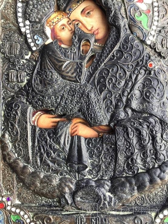 Икона Богородица Почаевская, фото №4